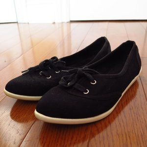 Aldo Black and White Sneakers Pointed Toe